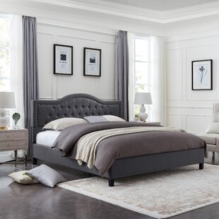 Wynsum Queen Upholstered Panel Bed by Charlton Home