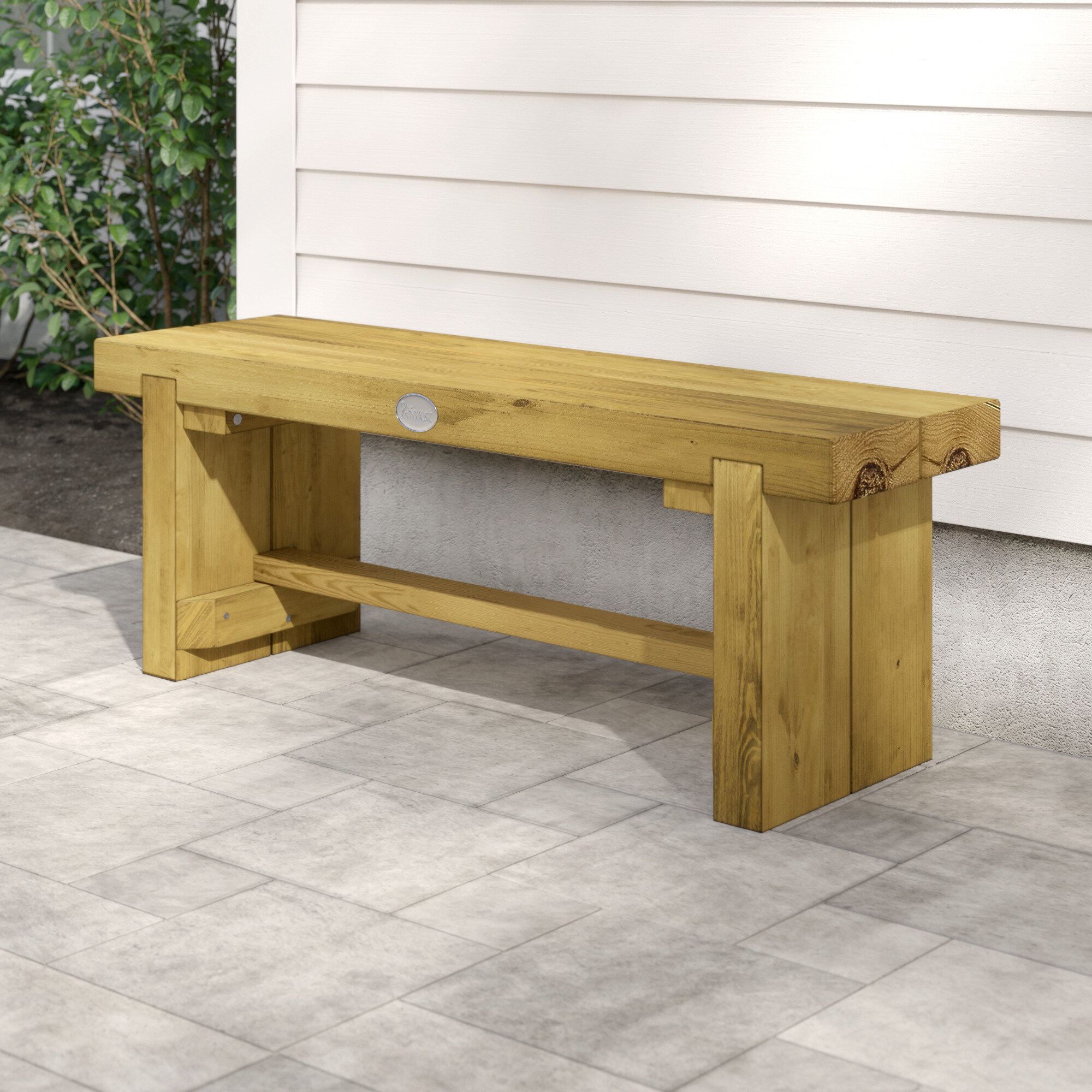 Bel Etage Double Sleeper Wooden Bench Reviews Wayfair Co Uk