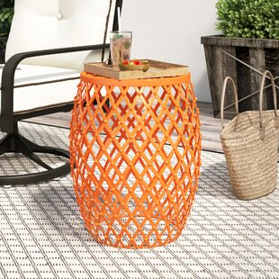 Reviews Crutchfield Outdoor Metal Side Table By Ebern Designs