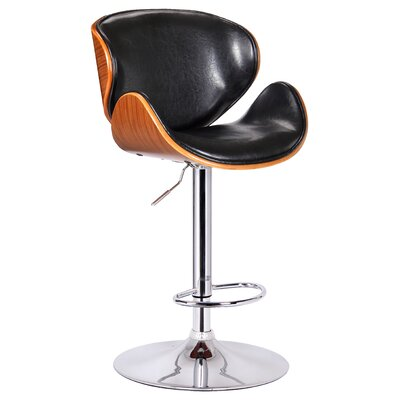 Cool Boraam Osa Adjustable Height Swivel Bar Stool Upholstery Black Pabps2019 Chair Design Images Pabps2019Com