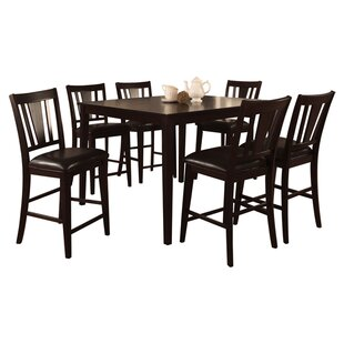 Rushford Leal 5 Piece Counter Height Dining Set DarHome Co