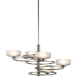 Kichler Aleeka 5-Light Shaded Chandelier