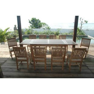 Rosecliff Heights Farnam 5 Piece Teak Dining Set