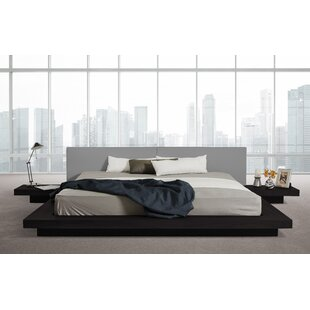 Carter Upholstered Platform Bed by Wade Logan Great price