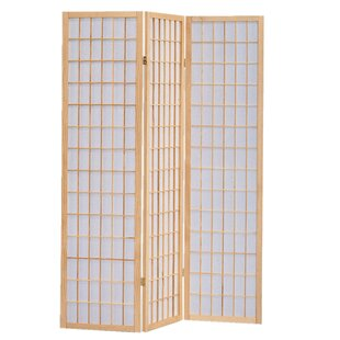 World Menagerie Queanbeyan Shoji 3 Panel Room Divider