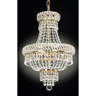 Willa Arlo Interiors Charvi 3-Light Empire Chandelier