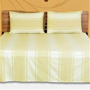 Huntsberry Genuine Striped 400 Thread Count 100% Cotton Sheet Set