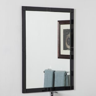 Decor Wonderland Frameless Beveled Kinana Wall Mirror