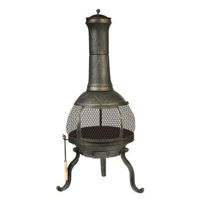 DeckMate Cast Iron Wood Burning Chiminea