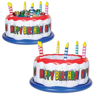 24 Can Inflatable Birthday Cake Cooler