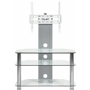 Howard Beach Glass TV Stand for TVs up to 40