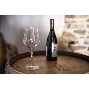 Find Supremo Bordeaux 19 oz. Crystal Stemmed Wine Glass (Set of 6) ByLuigi Bormioli