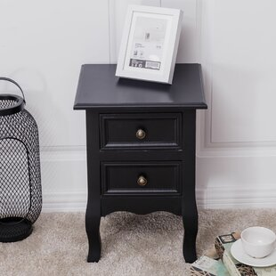 Battles Costway End Table with Storage by Canora Grey