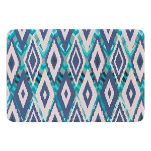 Tribal Ikat by Nika Martinez Bath Mat