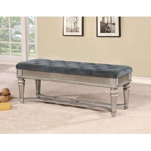 Batesville Wood Upholstered Bench