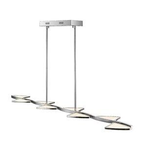 Orren Ellis Keli 8-Light LED Pendant