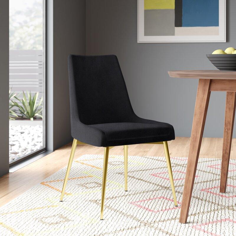 Allmodern Gabrielle Upholstered Dining Chair Reviews Wayfair