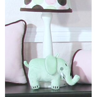 Review Minky Dot 15 Table Lamp Base by Brandee Danielle
