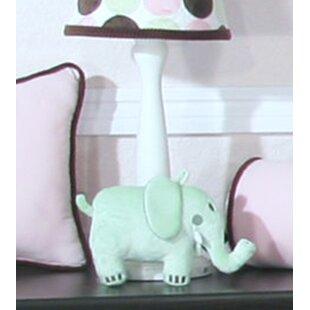 Review Minky Dot 15 Table Lamp Base by Brandee Danielle