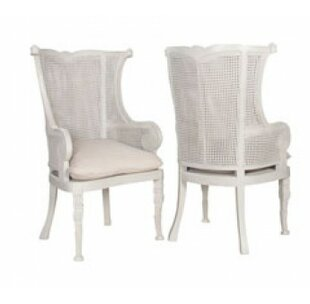 Thendara Wingback Arm Chair (Set of 2) by..