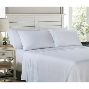 Affordable Price Mifflinville Ultra-Soft Embroidery Sheet Set By Charlton Home