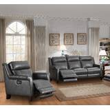 Walkerville Reclining 2 Piece Leather Living Room Set by Red Barrel Studio