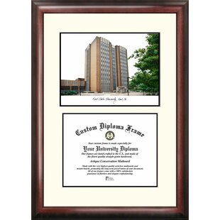 NCAA Kent State Golden Flashes Scholar Lithograph Diploma Frame By Campus Images
