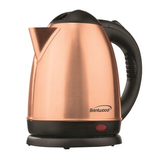 Cordless Stainless Steel Electric Tea Kettle