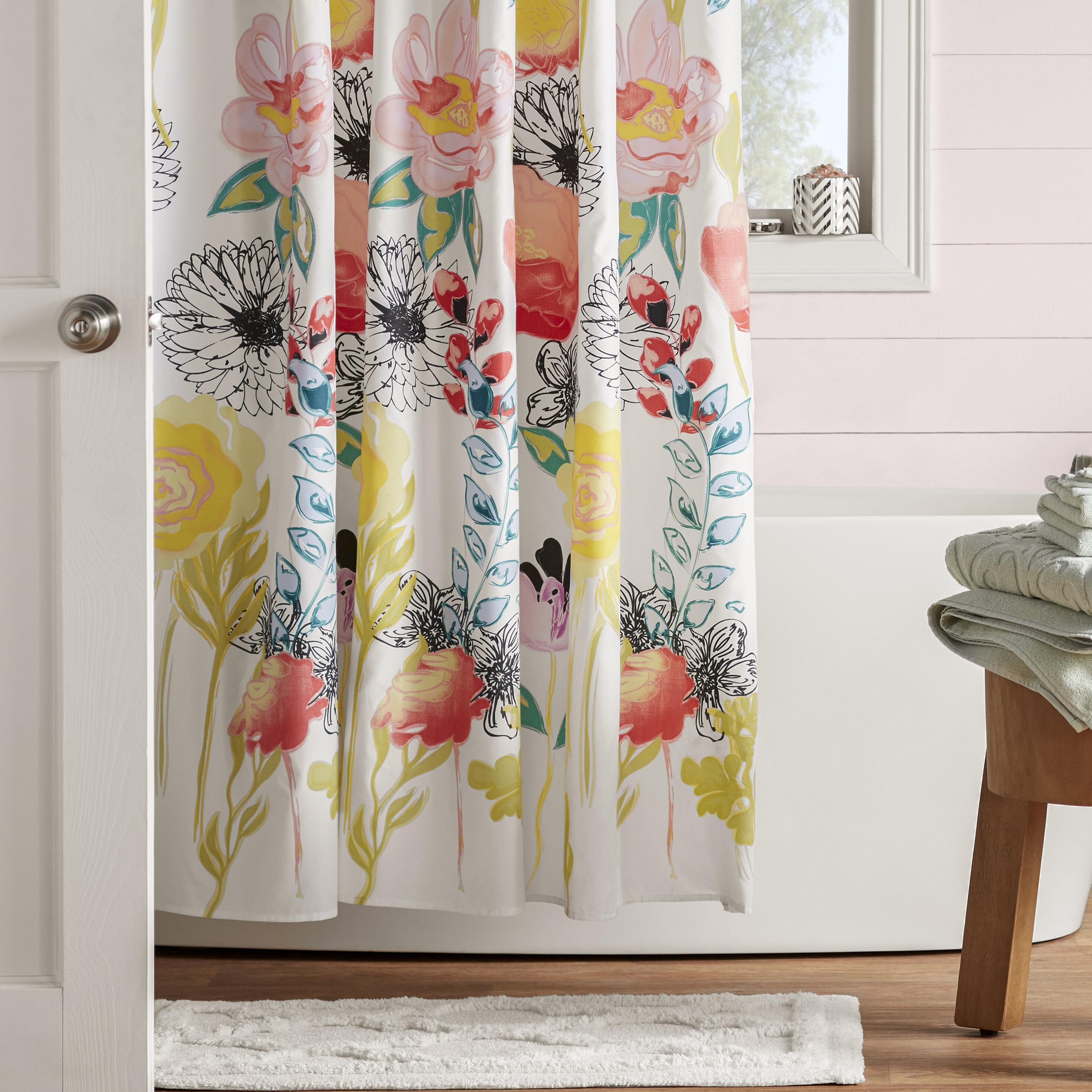 Mistana Appenzell Shower Curtain Amp Reviews Wayfair