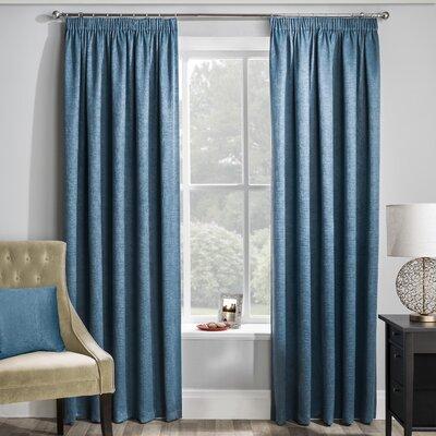 Dark Teal Curtains Wayfair Co Uk