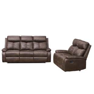 Woodfin 2 Piece Reclining Living Room Set by Red Barrel Studio