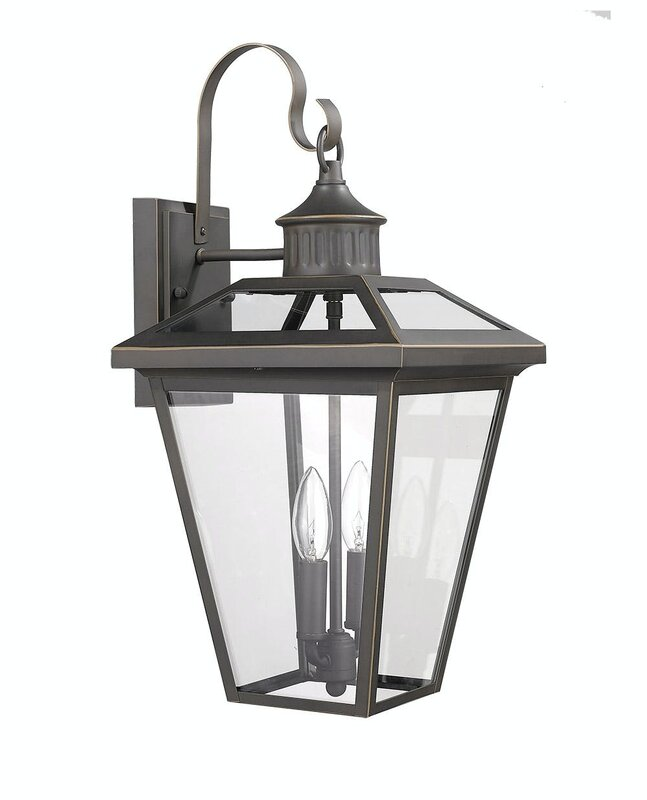 All New Gracie Oaks Onekama 2 Light Outdoor Wall Lantern For Home