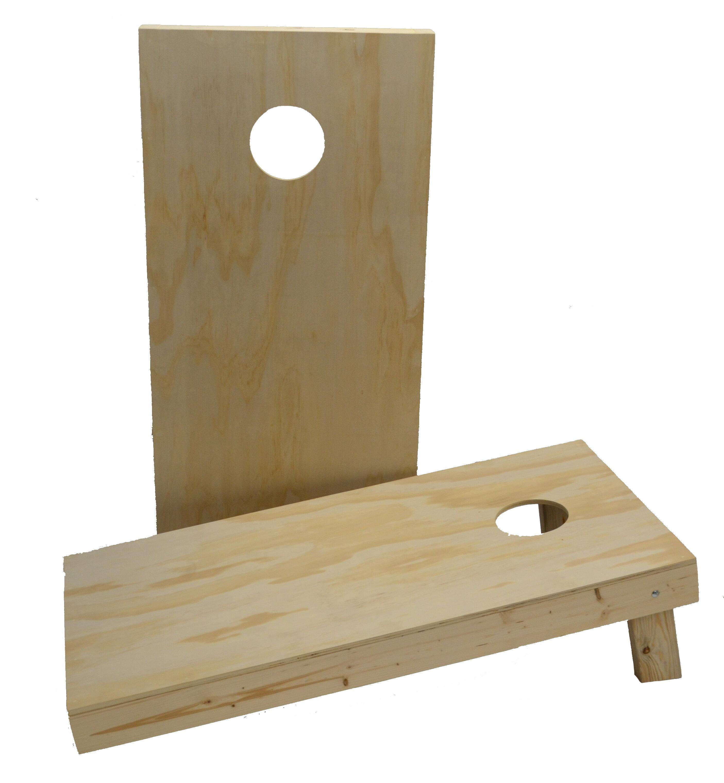 Custom Cornhole Boards 2 X 4 Non Painted Diy Cornhole Board Reviews Wayfair