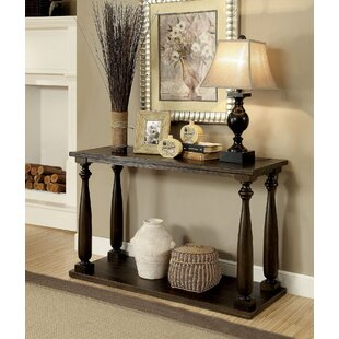 Morrill Rustic Console Table by Gracie Oaks