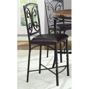 Vaughan 24 Bar Stool (Set of 4) Fleur De Lis Living