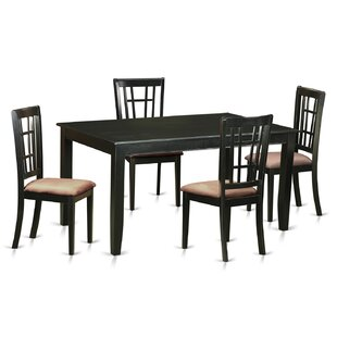 Araminta 5 Piece Dining Set Alcott Hill