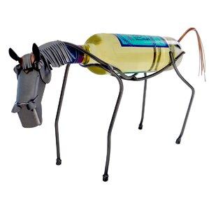 Horse 1 Bottle Tabletop Wine Rack by H & ..