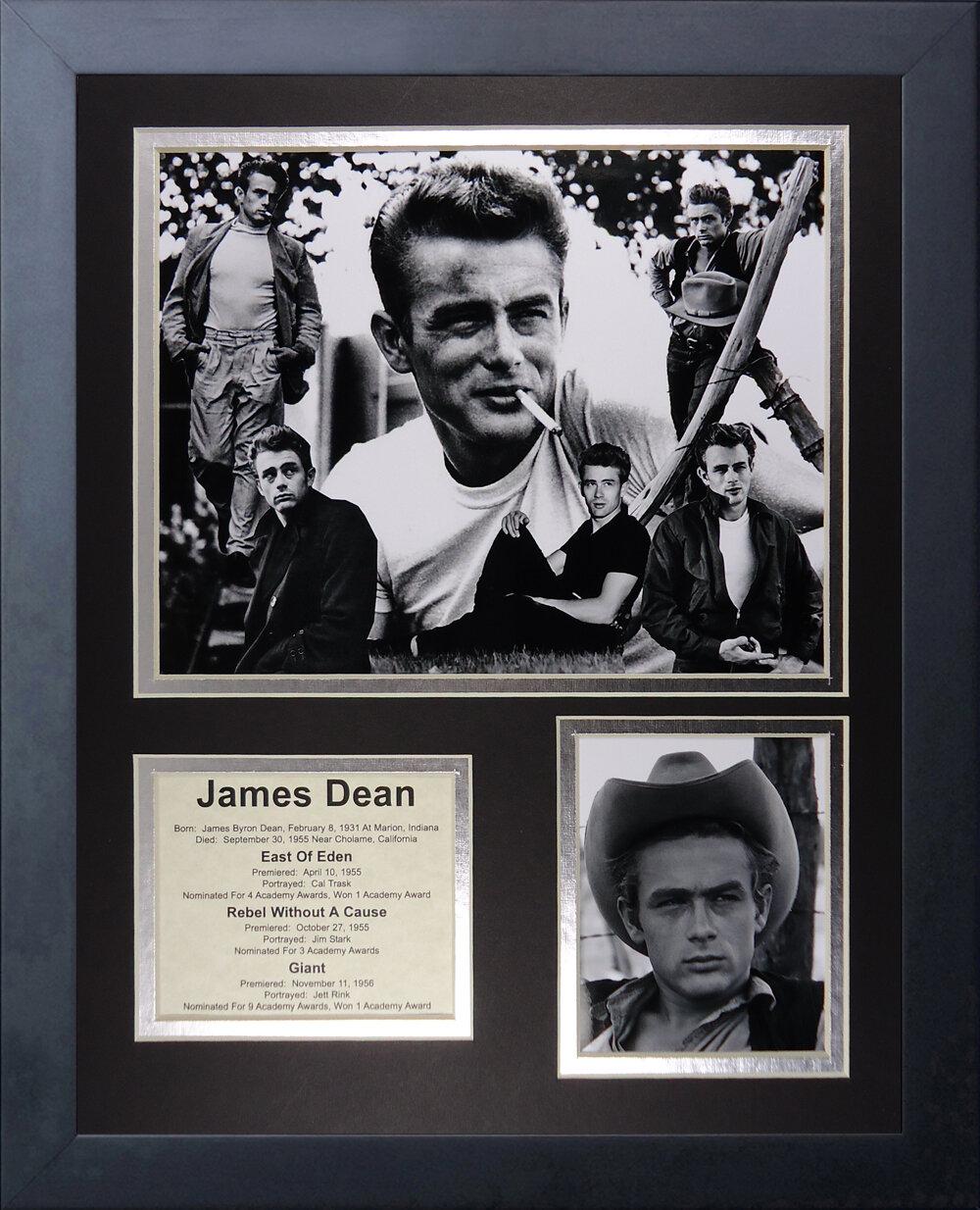 James Dean photo encadr/ée