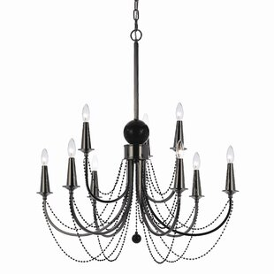 Candice olson chandelier wayfair candice olson shelby 9 light candle style chandelier aloadofball Gallery