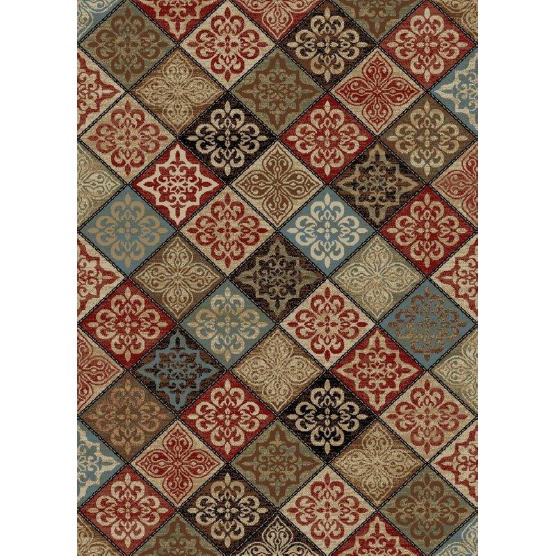 Dalton New York Mosaic Brown Area Rug