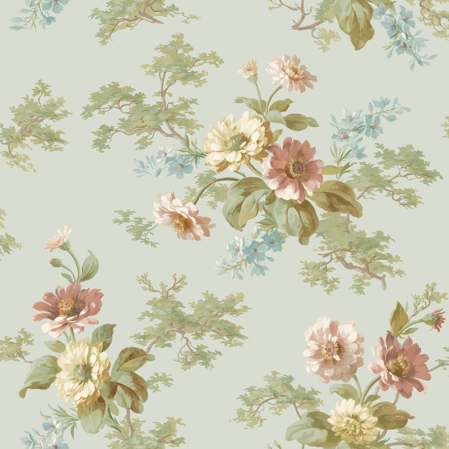 Ophelia Co Chidi 33 X 20 5 Floral 3d Embossed Wallpaper Wayfair