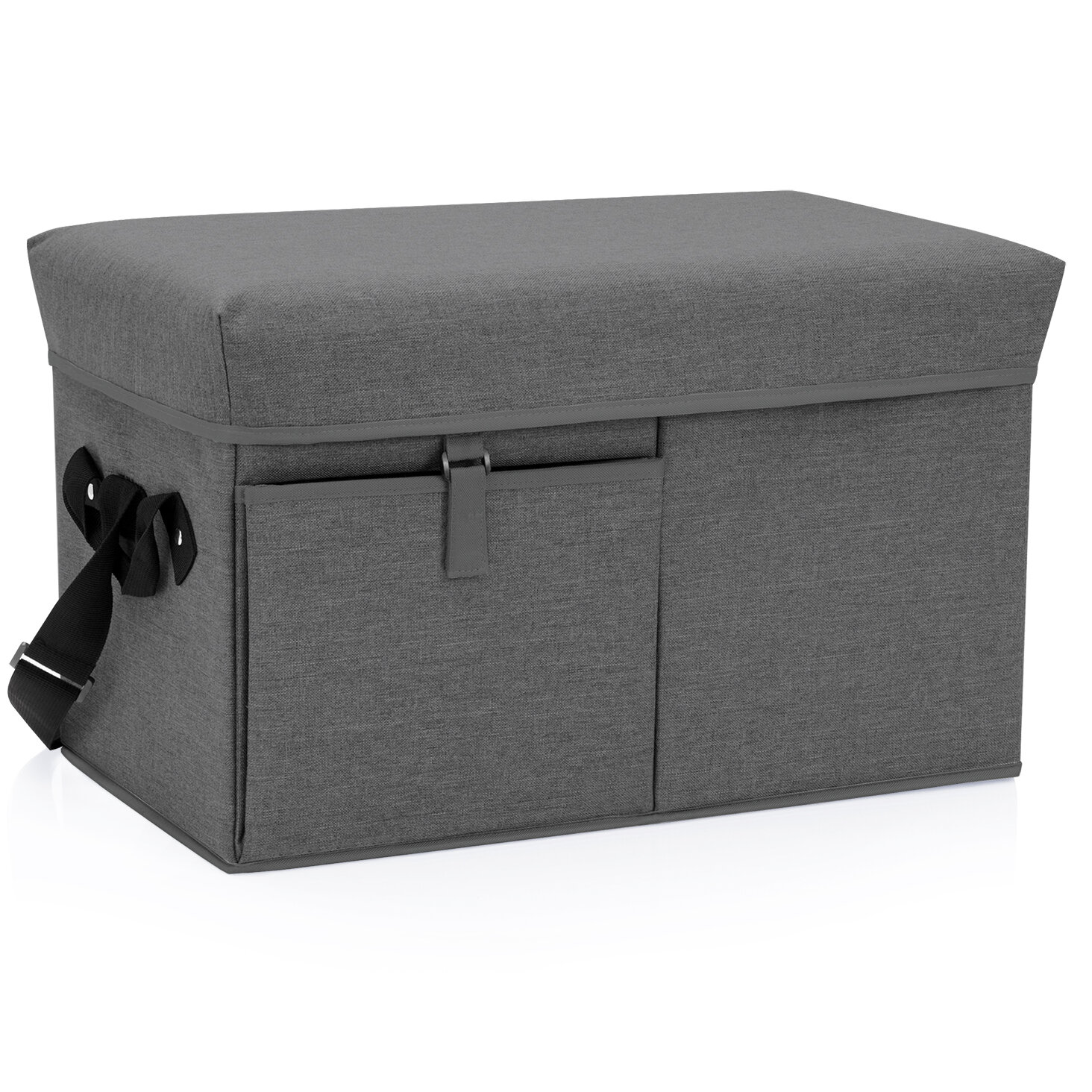 FLIP BOX Grey//Black MINI Insulated Box Holds 12 Cans Foldable Cooler on SALE!