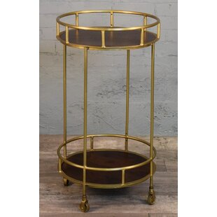 Colona Circular Bar Cart by Brayden Studio