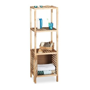 Baisden 40 X 123cm Wooden Caddy Free Standing Cabinet By Brambly Cottage