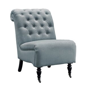 Alcott Hill Stapler Roll Back Tufted Side Chair