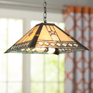 Bindera 2-Light Inverted Pendant by World Menagerie