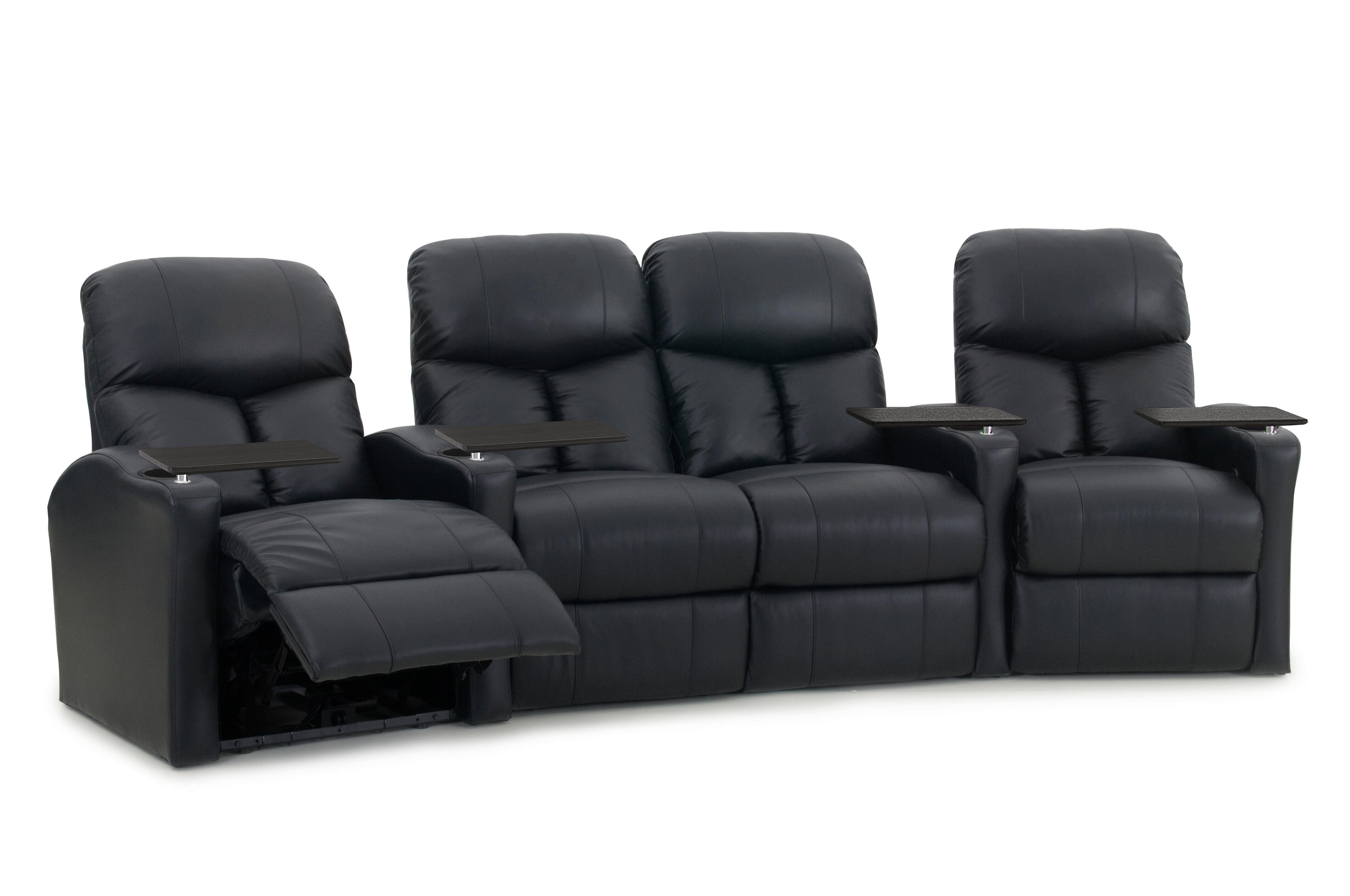 Latitude Run Home Theater Row Seating Row Of 4 Reviews Wayfair