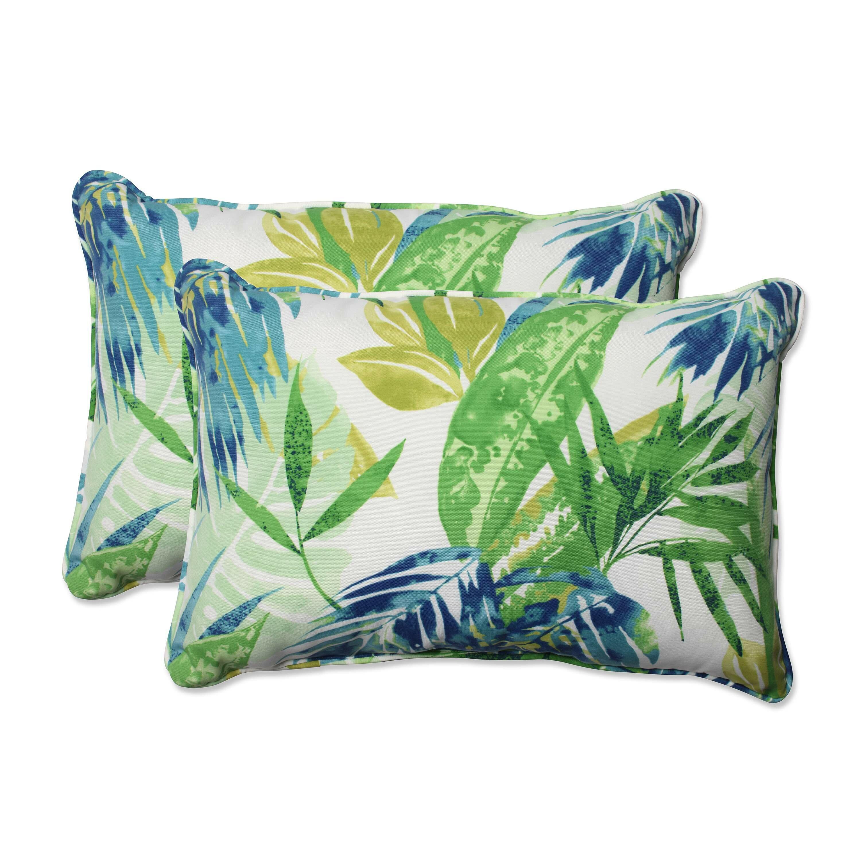 Highland Dunes Earnhardt Indoor Outdoor Lumbar Pillow Reviews Wayfair