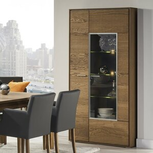 Thiago 2 Door Accent Wood Cabinet by Union Rustic