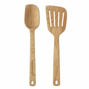 Wooden Utensils 2 Piece Utensil Set